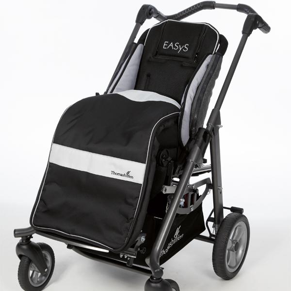 Stor åkpåse för sulky eller rullstol